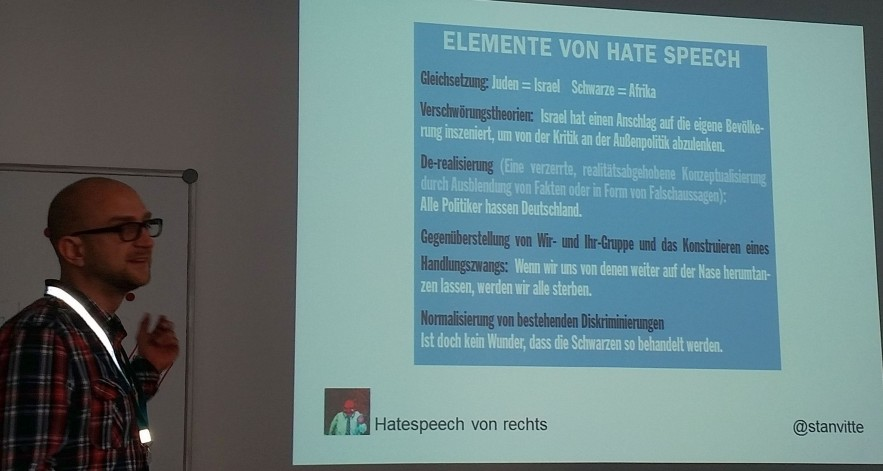 Elemente von Hate Speech
