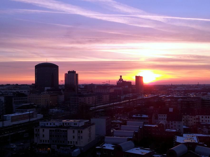Blick von der Nordstadt
